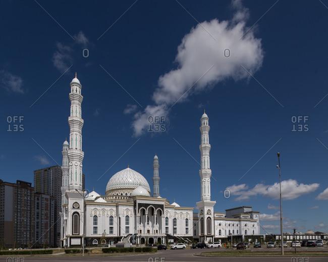 A mosque in Astana, Kazakhstan