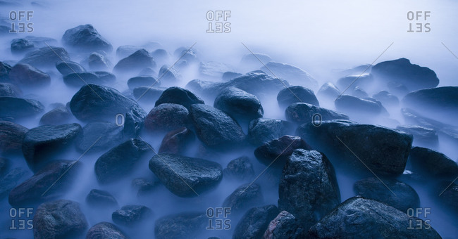 Rocks at dusk - Offset Collection