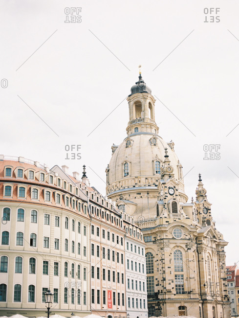 The Frauenkirche in Dresden, Germany