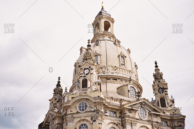 Dome of Frauenkirche in Dresden, Europe