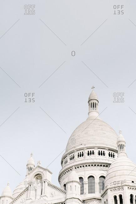 Dome of the Sacre Coeur Basilica in Paris