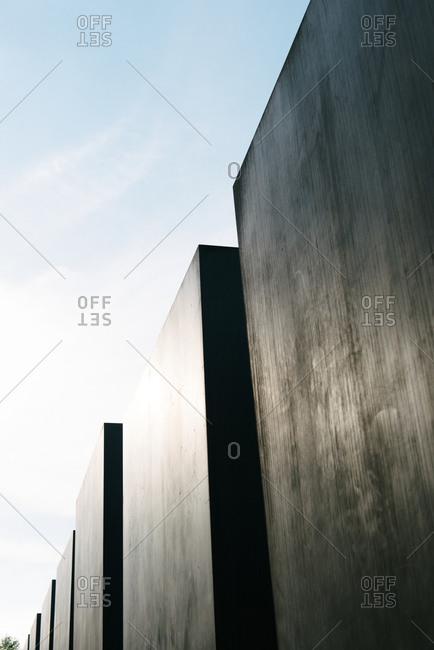 September 15, 2015: Memorial to the Murdered Jews of Europe, Berlin, Germany