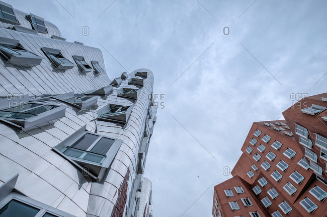 Neue Zollhof and neighboring building