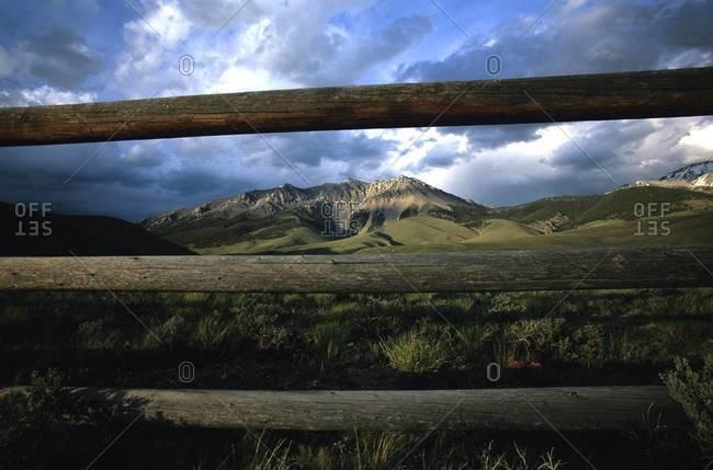 Mount Borah in the Lost River Range, Idaho