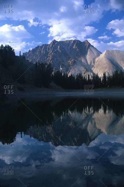 Castle Peak and White Cloud Mountains, Idaho