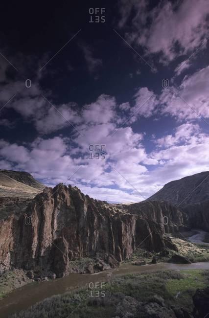 Bruneau River Canyon in Idaho