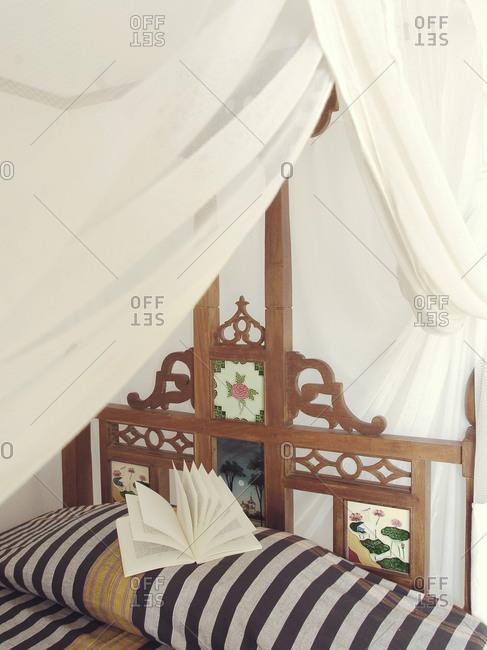Kijani house hotel bedroom in Shela, Lamu island, Kenya