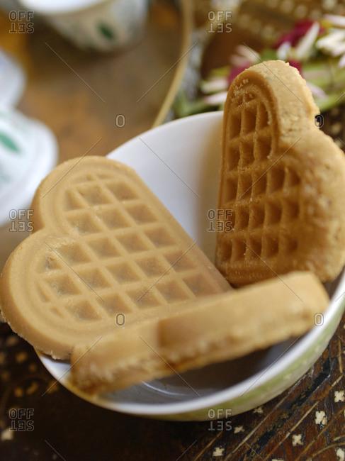 Swahili biscuits on Lamu island in Kenya