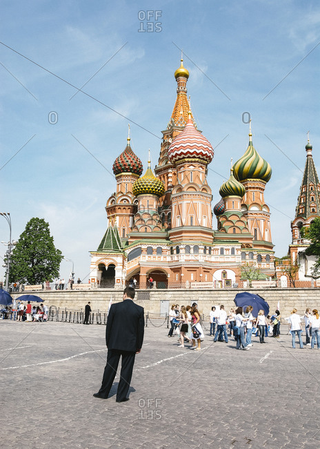 May 19, 2007: Moscow, Russia - St. Basil's Cathedral