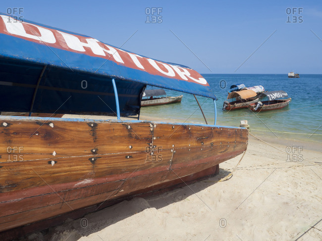 Stone Town port, Zanzibar, Tanzania, East Africa, Africa