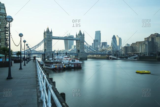 Tower Bridge on the River Thames, London, England, United Kingdom