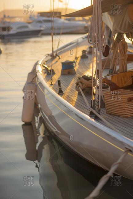 Harbour, St. Tropez, Var, Provence, Cote d'Azur, French Riviera, France