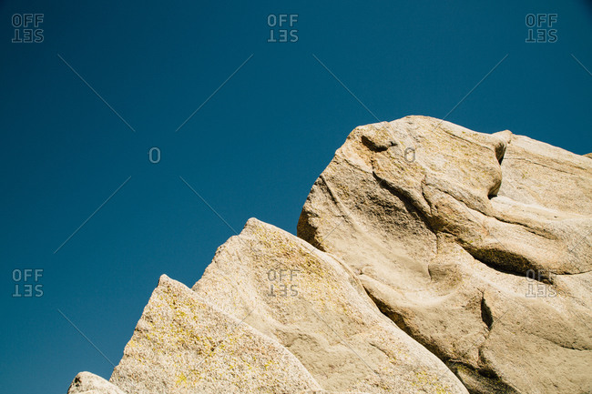 Detail of a rock formation