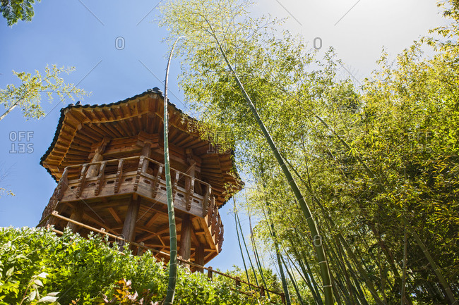 Open air folk museum at the traditional village of Damyang