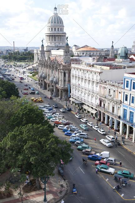 Downtown Havana in Cuba