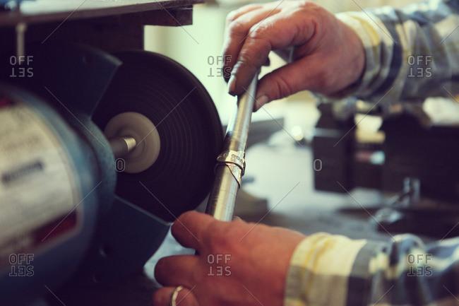 Craftsman polishing ring