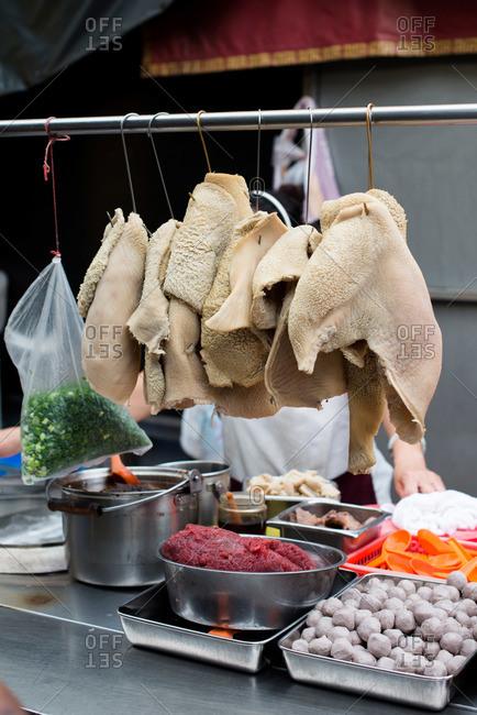 Street food vendor in Malaysia