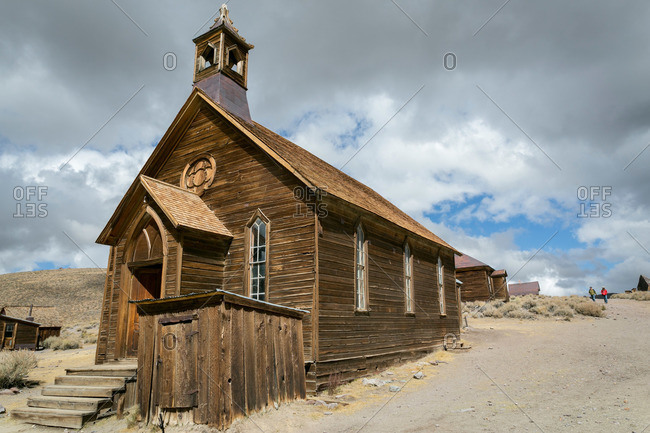 Old church in a ghost town, California