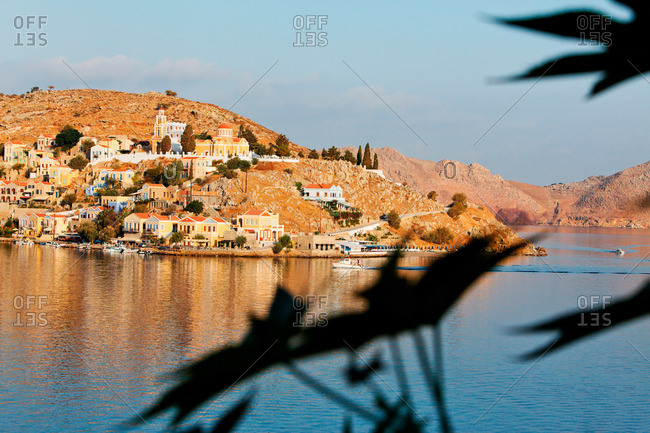 Angelidi, Symi Town, Symi, Dodecanese, South Aegean, Greece