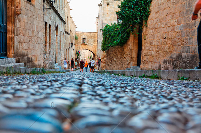 Avenue of the Knights, Rhodes Town, Rhodes, Dodecanese, South Aegean, Greece