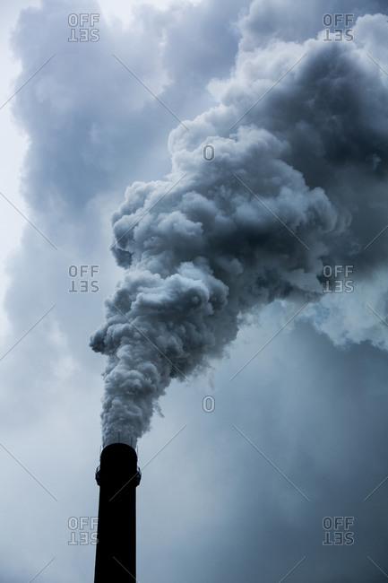 Coal fired power plant, Chongqing, China