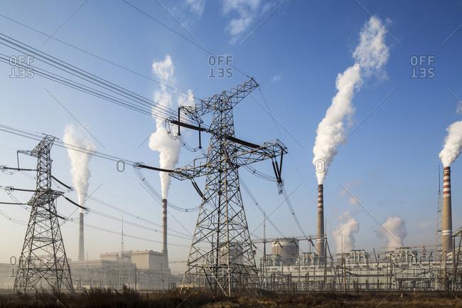 Coal-fired power plant, Chongqing, China