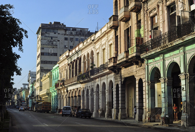 Old colonial buildings, Havana vieja, La Havana, Cuba