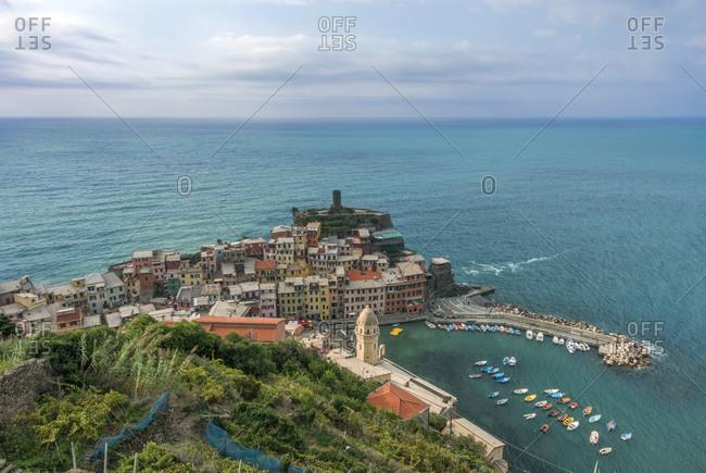 The harbor at Vernazza, Cinque Terre, Italy