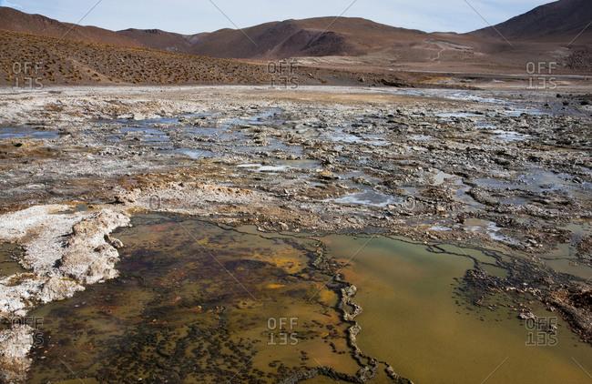 El Tatio Geysers, Antofagasta, Chile