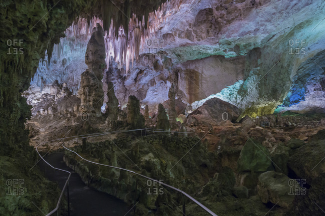 Scenic of cavern, Carlsbad Caverns, New Mexico, USA