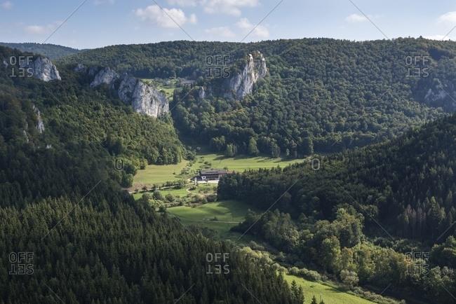 Upper Danube Valley, Baden-Wuerttemberg - Offset