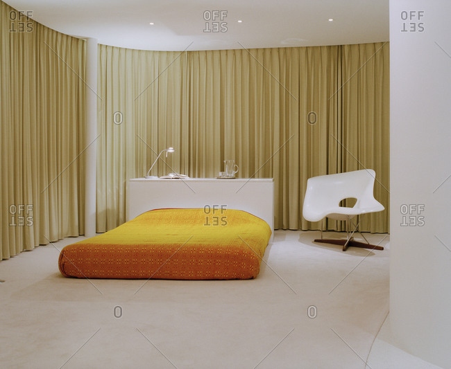 Dover Heights, Australia - September 26, 2005: Spacious bedroom in modern home