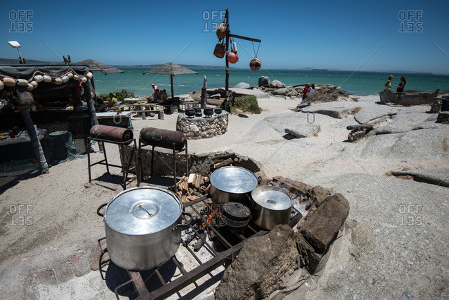 Seaside restaurant in Langebaan, South Africa
