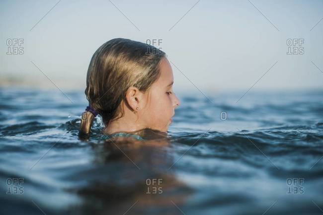 head above water stock photos offset