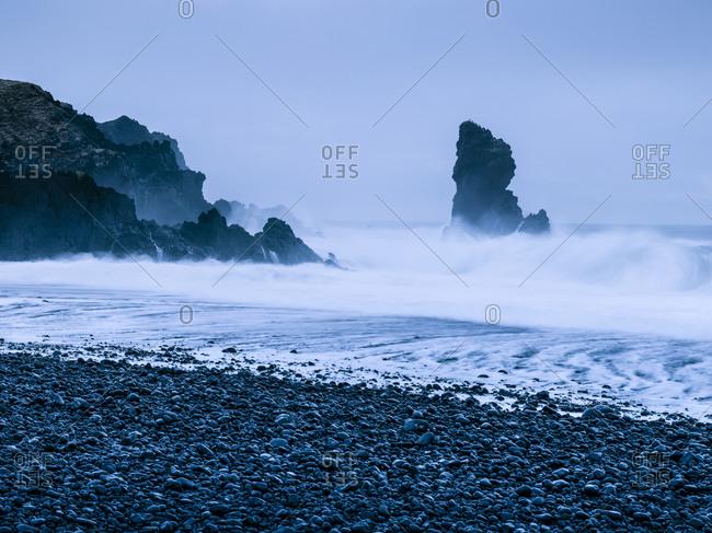 Stormy sea, Scandinavia