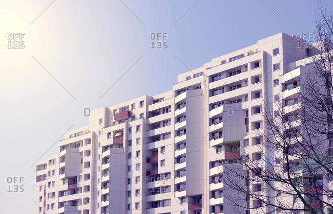 Refurbished apartment building, Ratingen - Offset