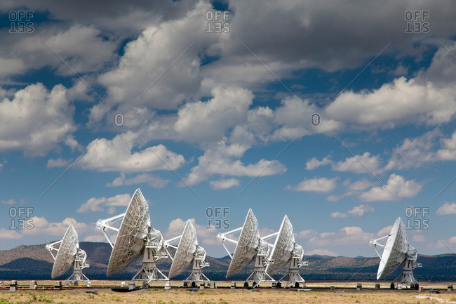 Very Large Array radio astronomy observatory, New Mexico