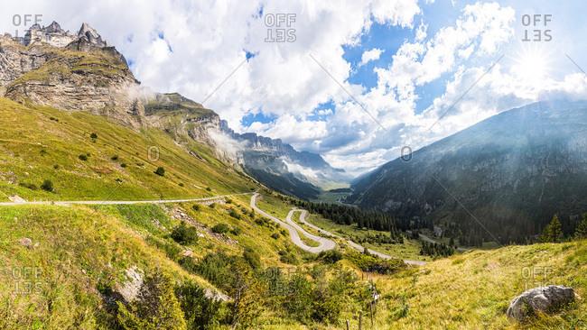 Klausen Pass, Canton of Glarus, Switzerland