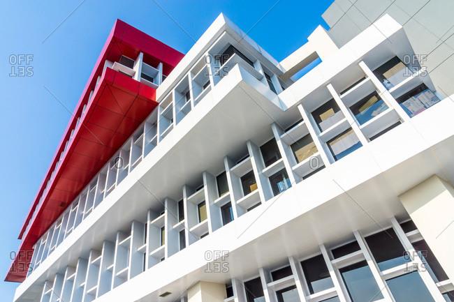 Modern office building facade, Jakarta