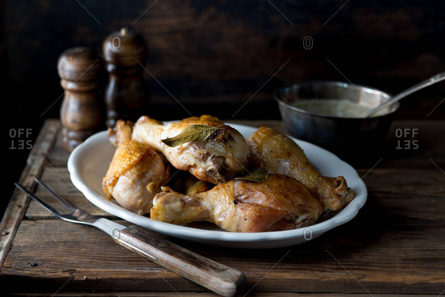 Roasted Chicken Drumsticks