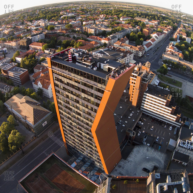 High-rise building in Klaipeda, Lithuania