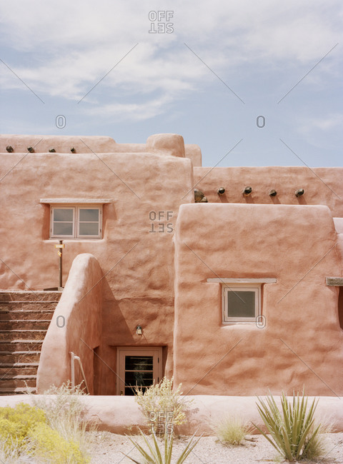 Traditional Adobe building - Offset Collection