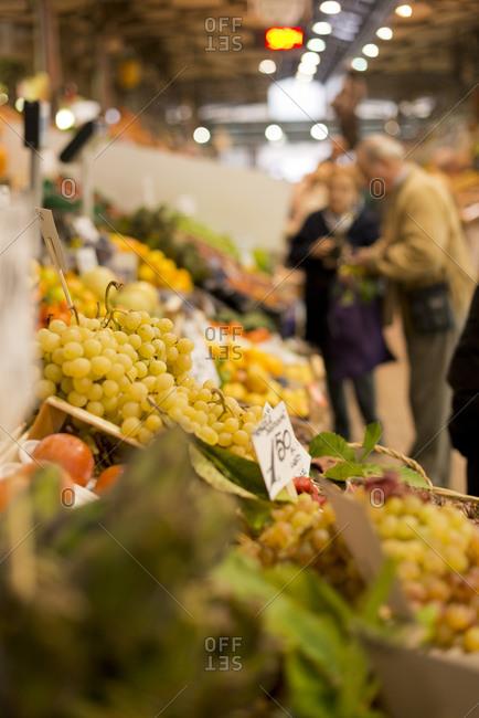 Albinelli market in Modena, Italy