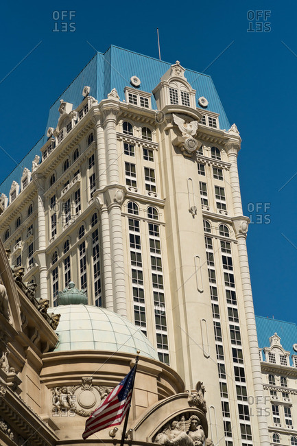 Las Vegas, Nevada - April 16, 2014: Paris Hotel and Casino