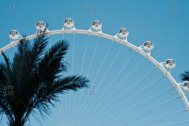 Las Vegas, Nevada - April 16, 2014: High Roller ferris wheel on the Las Vegas Strip