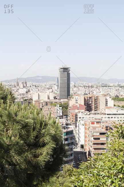 High rise in Barcelona, Spain