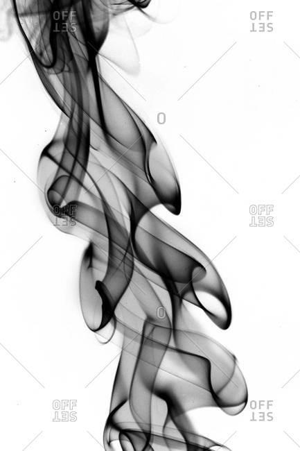 Cloud of black smoke