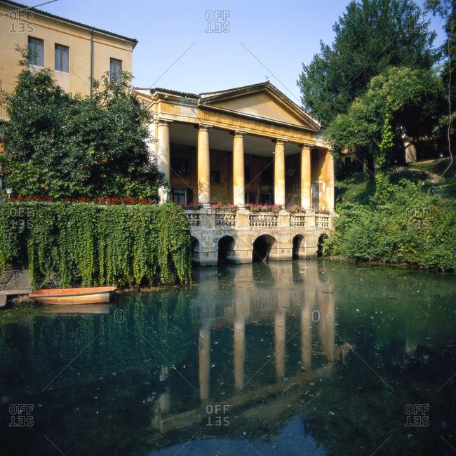 Loggia Valmarana, Salvi Garden, Vicenza, Veneto, Italy