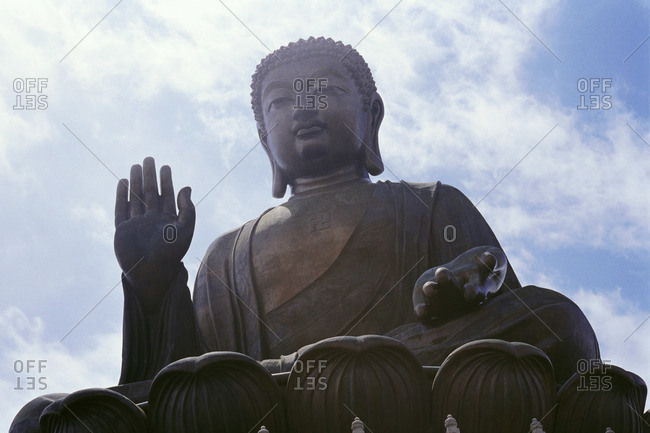 Buddha Statue, Lantau Island, Hong Kong, China