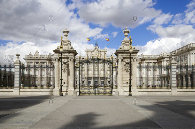 Palacio Real de Madrid, Plaza de Oriente, Madrid, Spain